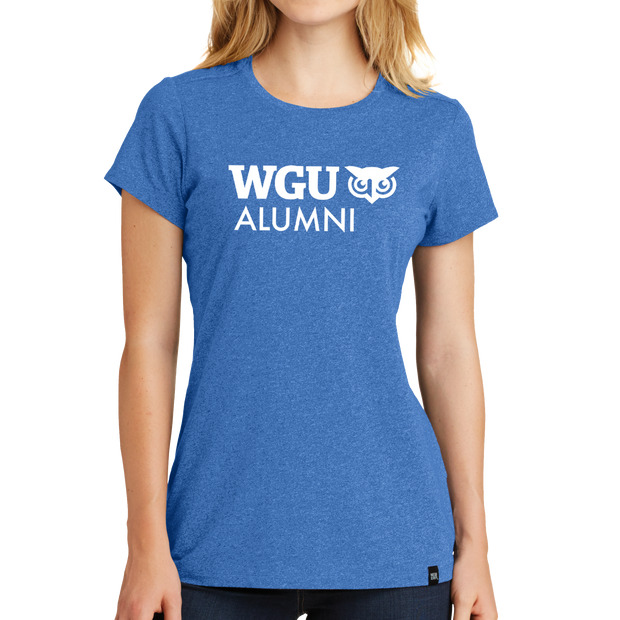New Era® Ladies Heritage Blend Crew Tee - Alumni
