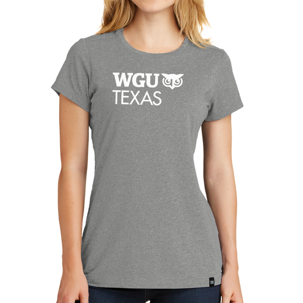 New Era® Ladies Heritage Blend Crew Tee - Texas
