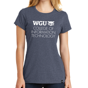 New Era® Ladies Heritage Blend Crew Tee WGU - COIT