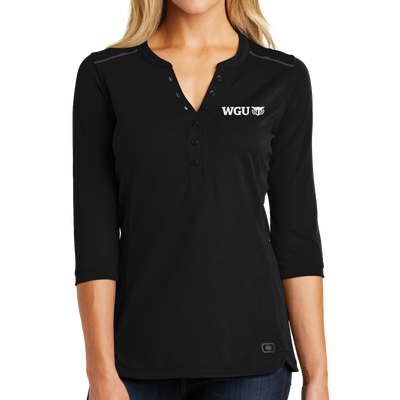 OGIO® Ladies Fuse Henley