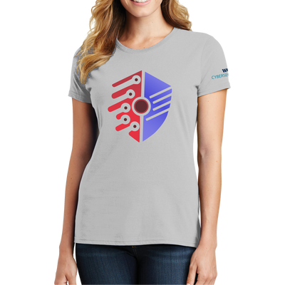 Port & Company Ladies Fan Favorite Tee - Cyber Security Club