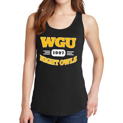 Port & Company Ladies Core Cotton Tank Top - Night Owl- WGU Clearance