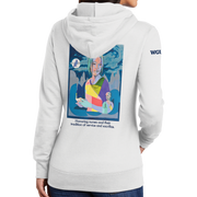 Graphic Year of the Nurse Port & Company ® Ladies Core Fleece Pullover Hooded Sweatshirt