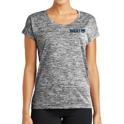 Sport-Tek® Ladies PosiCharge® Electric Heather Sporty Tee