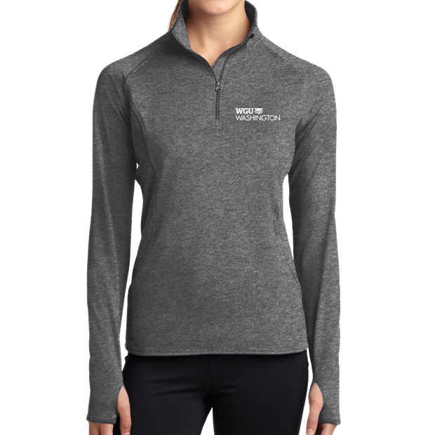 Sport-Tek® Ladies Sport-Wick® Stretch 1/2-Zip Pullover - Washington