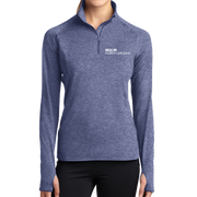 Sport-Tek® Ladies Sport-Wick® Stretch 1/2-Zip Pullover - North Carolina