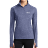 Sport-Tek® Ladies Sport-Wick® Stretch 1/2-Zip Pullover - Indiana