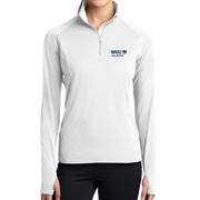 Sport-Tek® Ladies Sport-Wick® Stretch 1/2-Zip Pullover - Alumni