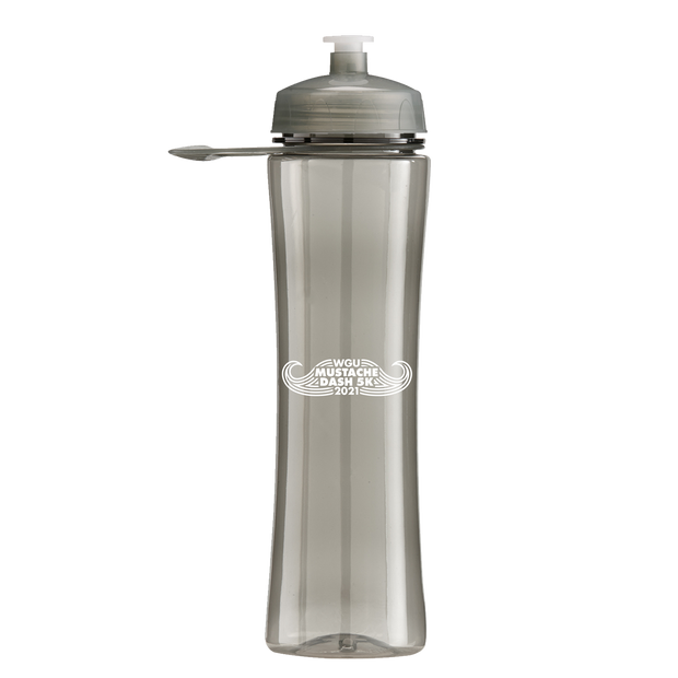 24 oz. Polysure exertion translucent water bottle - WGU Clearance