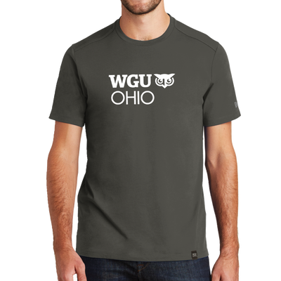 New Era® Heritage Blend Crew Tee - Ohio