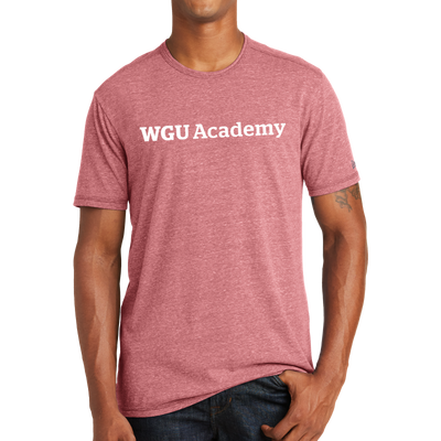 New Era® Tri-Blend Performance Crew Tee - WGU Academy
