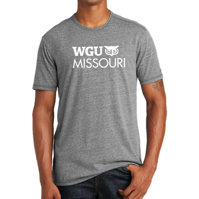 New Era® Tri-Blend Performance Crew Tee - Missouri