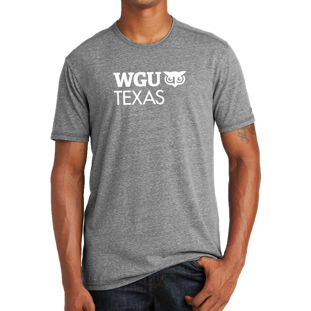 New Era® Tri-Blend Performance Crew Tee - Texas