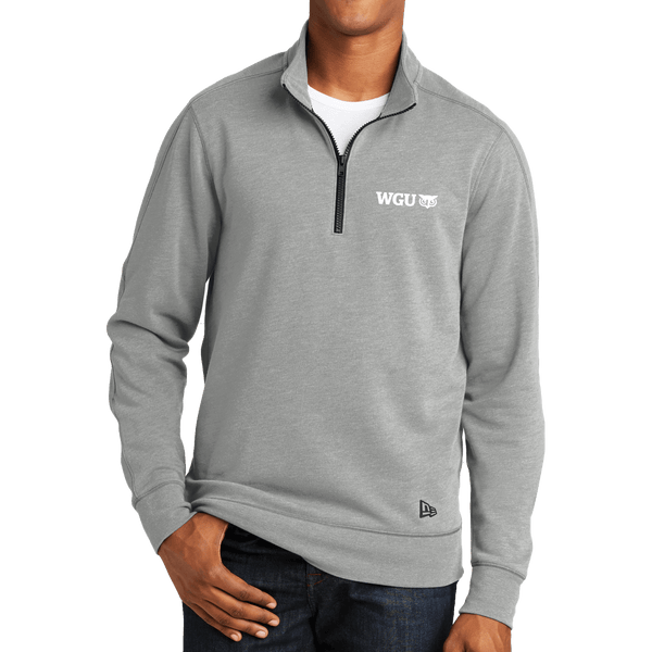 New Era® Tri-Blend Fleece 1/4-Zip Pullover