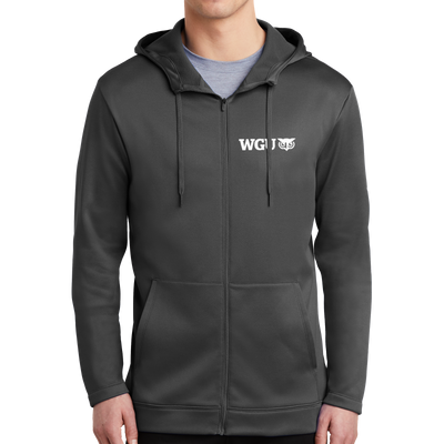Nike Therma-FIT Full-Zip Fleece Hoodie - WGU Clearance