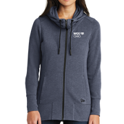New Era® Ladies Tri-Blend Fleece Full-Zip Hoodie - Ohio