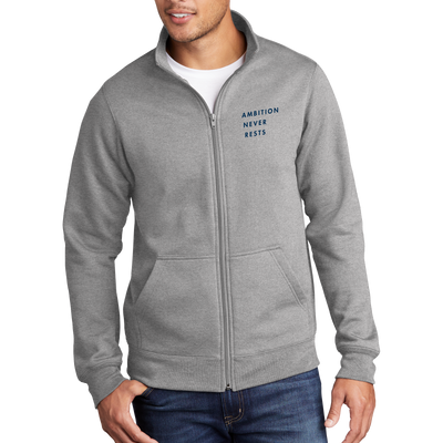 Port & Company Core Fleece Cadet Full-Zip Sweatshirt - ANR