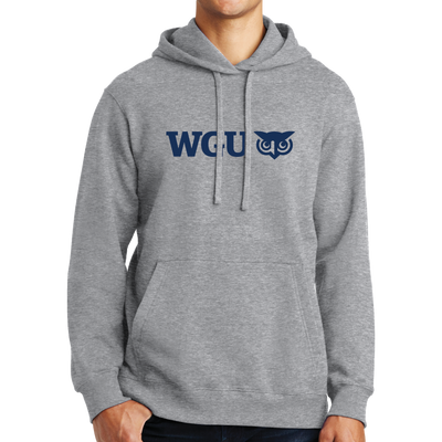 Port & Company Fan Favorite Fleece Pullover Hooded Sweatshirt - WGU Clearance