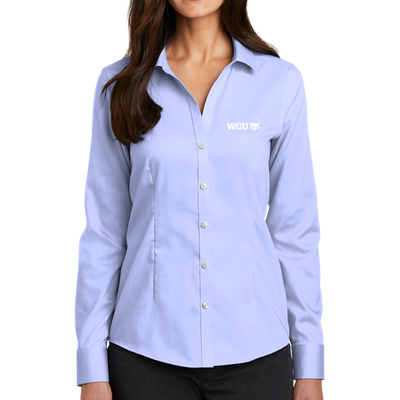 Red House® Ladies Pinpoint Oxford Non-Iron Shirt