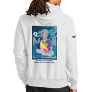 Graphic Year of the Nurse Champion Reverse Weave Hooded Sweatshirt