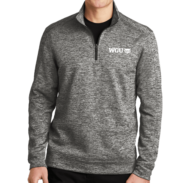 Sport-Tek® PosiCharge® Electric Heather Fleece 1/4-Zip Pullover