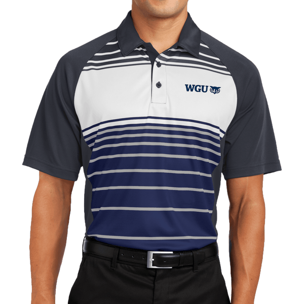 Sport-Tek® Dry Zone® Sublimated Stripe Polo