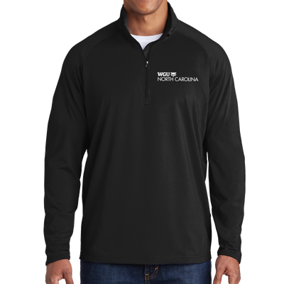 Sport-Tek® Sport-Wick® Stretch 1/2-Zip Pullover - North Carolina