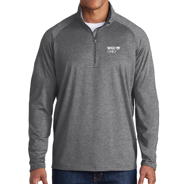 Sport-Tek® Sport-Wick® Stretch 1/2-Zip Pullover - Ohio