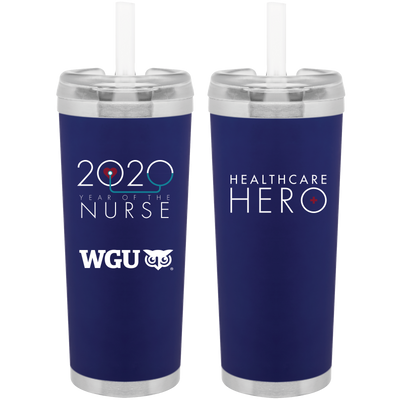 Healthcare Hero- Brooklyn Insulated Stainless Tumbler- WGU Commencement