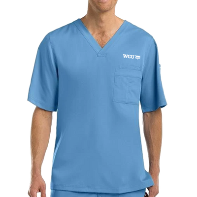 Greys Anatomy Men's 3 Pocket Top - WGU Clearance