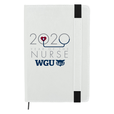 2020 Year Of The Nurse 80 page Journal Notebook- WGU Commencement