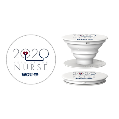 2020 Year Of The Nurse Pop Socket Phone Accessory - WGU Clearance