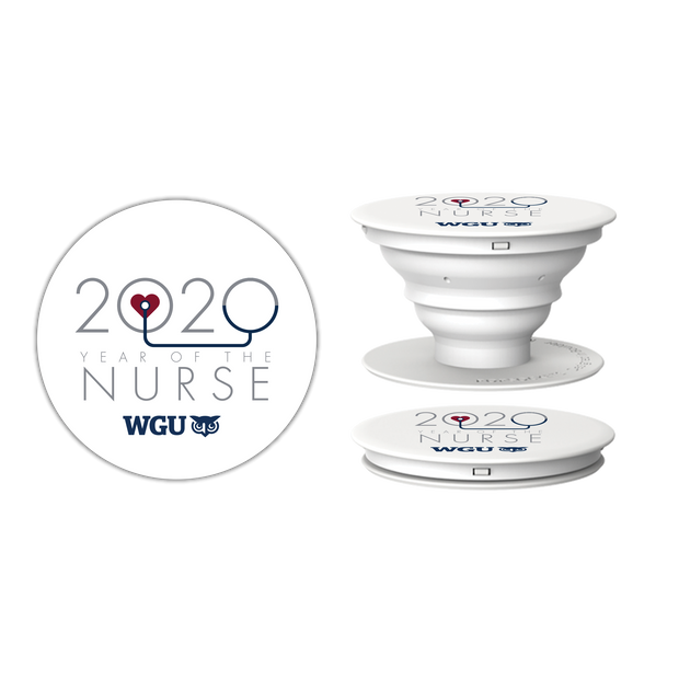 2020 Year Of The Nurse Pop Socket Phone Accessory