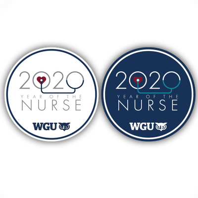2020 Year of the Nurse Coaster Set - WGU Clearance