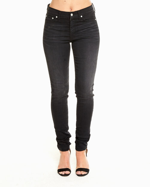 LIGHT OF THE WORLD MID RISE SKINNY