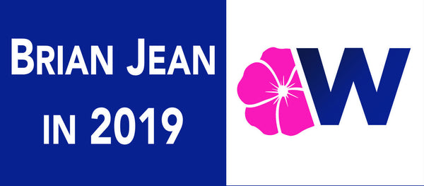 Brian Jean 2019 Window Cling