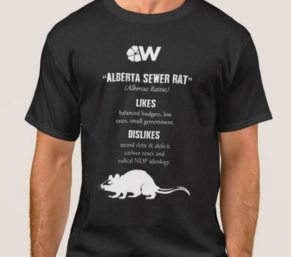 Alberta Sewer Rat T-Shirt