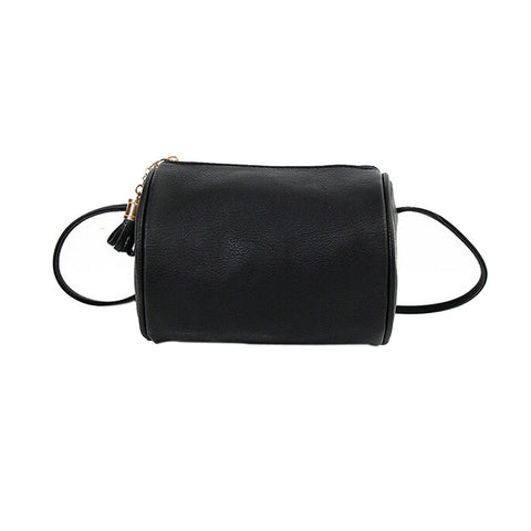 Cylinder Crossbody Purse
