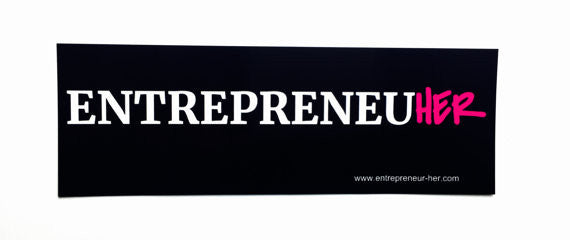 ENTREPRENEUR HER Sticker