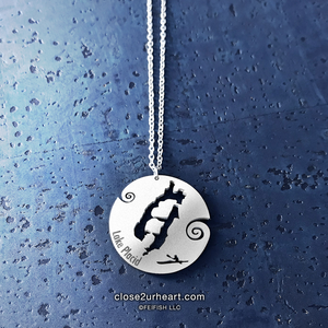 Lake Life Stainless Steel Necklace Collection