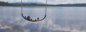 Stainless Steel Hiking Necklace