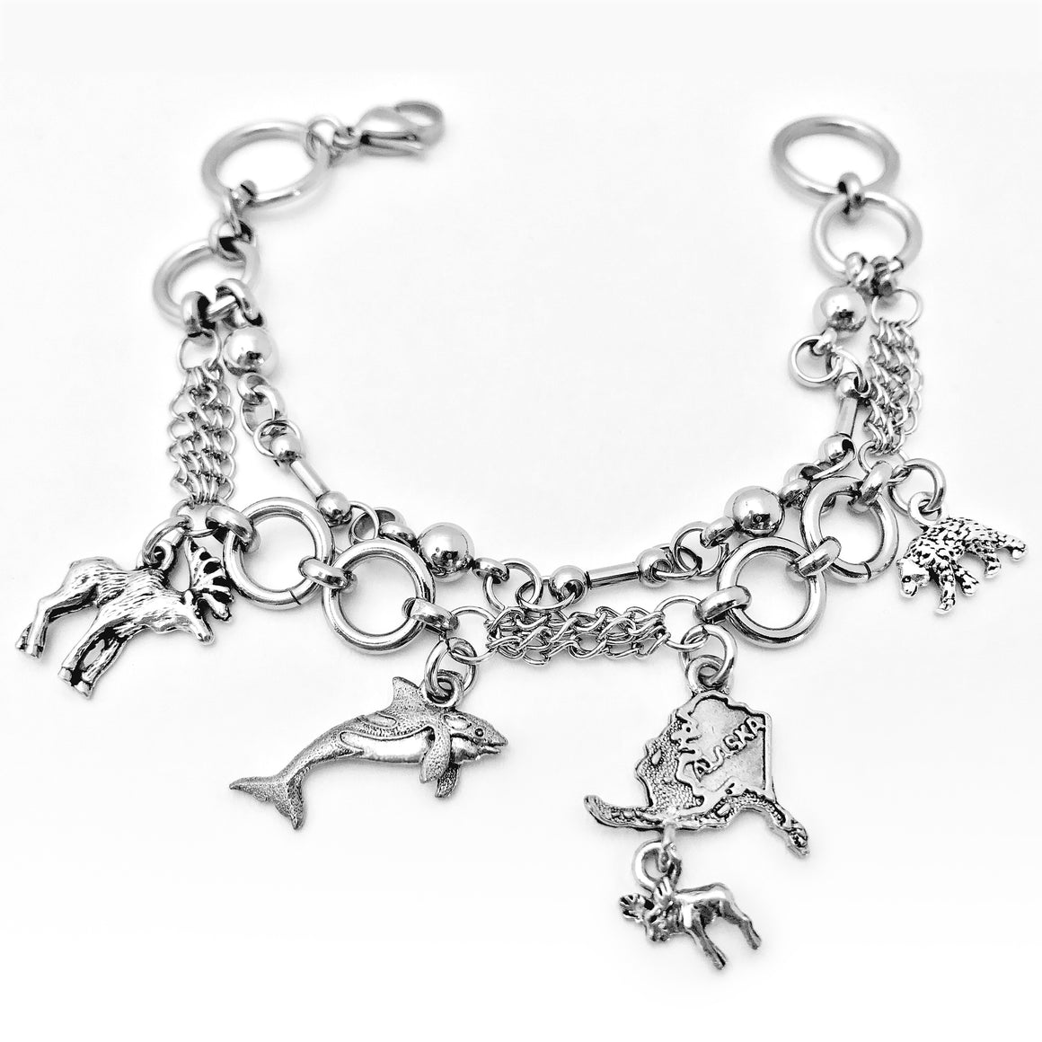 Alaska Charm Bracelet - Close 2 Ur Heart Jewelry