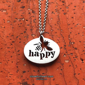 Bee Happy Necklace