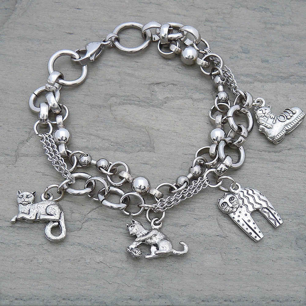 All About Cats Bracelet