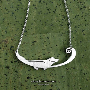 Alligator Necklace