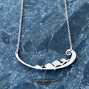 Close 2 UR Heart Fish Necklace