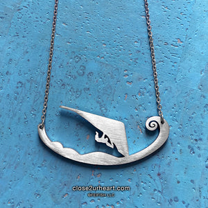 Hang Glider Necklace