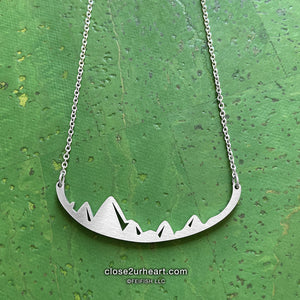 Mountains are Calling Necklace