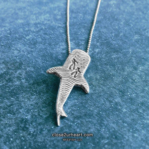 Swimming with Whale Shark Necklace