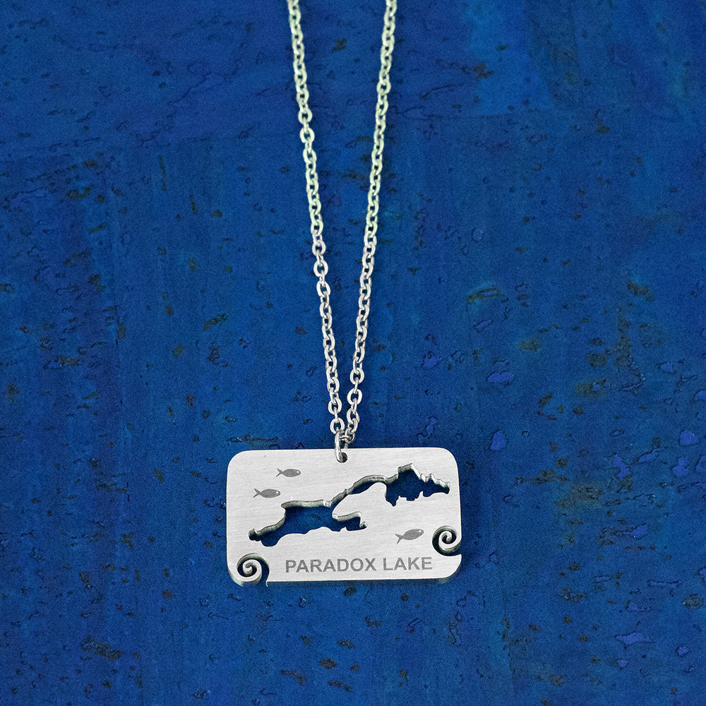 Paradox Lake Stainless Steel Necklace